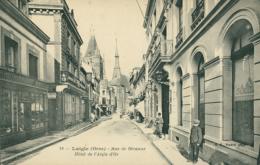 61 L'AIGLE / Rue De Becanne - Hôtel De L'Aigle D'Or / - L'Aigle