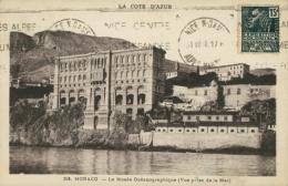 MC MONACO / Le Musée Océanographique, Vue Prise De La Mer / - Musée Océanographique