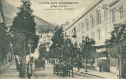 MC MONACO / Hôtel Des Négociants André Guido - 4 Avenue De La Gare / - Monte-Carlo