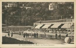 MC MONACO / Le Beach - La Piscine Olympique / - Monte-Carlo