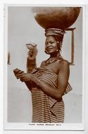 CPA Nigéria Afrique Noire Ethnic Type écrite - Nigeria
