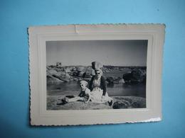 PHOTOGRAPHIE  TREGASTEL  -  22  -  Ile Renote  -  8  X 10,5  Cms - 1955 -  Côtes D'Armor - Trégastel