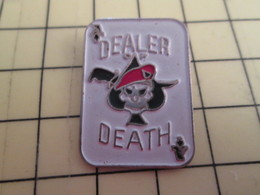 413f Pin's Pins / Rare Et Beau THEME MOTOS / VIETNAM DECULOTTEE POUR USA CARTE A JOUER DEALER DEATH AS DE PIQUE - Army