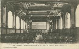 MC MONACO / Salle De Conférences / - Musée Océanographique