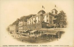 MC MONACO / Hôtel Restaurant Régina / - Monte-Carlo