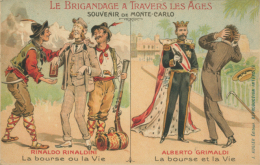 MC MONACO / Le Brigandage à Travers Les Ages / Humour/ - Monaco