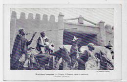 CPA Nigéria Afrique Noire Ethnic Type Non Circulé Musiciens Haoussas - Nigeria