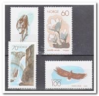 Noorwegen 1970, Postfris MNH, Birds, Wulf, Flowers, Waterfall - Noorwegen