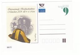 Poste PTT Facteur Messager Carte Entier Postal Tchecoslovaquie Ceska Republika Munchen 2004 Malle Postale - Postal Services