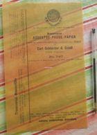 Pause-papier Carl Schleicher Und Schüll, Düren Rheinland - N°787 - 1885 - Imprimerie & Papeterie