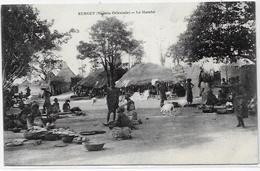 CPA Nigéria Afrique Noire Ethnic Type Non Circulé KURGUY Marché - Nigeria