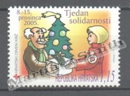 Croatia - Croatie - Croacia Beneficence 2005 Yvert 84, Red Cross, Solidarity Week - MNH - Croatie