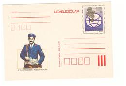 Poste PTT Facteur Messager Carte Entier Postal Magyr Posta Hongrie Takarekossag Kozos - Postal Services