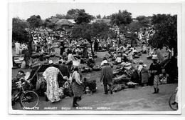CPA Nigéria Afrique Noire Ethnic Type Circulé Marché - Nigeria