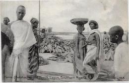 CPA Nigéria Afrique Noire Ethnic Type Circulé Lagos - Nigeria