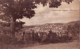 Castelvecchio Subequo AQ , Anni  '40/50 Panorama Co Quercia - Other Cities