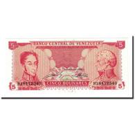 Billet, Venezuela, 5 Bolivares, 1989-09-21, KM:70b, NEUF - Venezuela