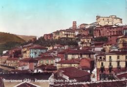 Marsico Nuovo, Veduta Acquerellata  Con Castello  Anni '60 - Altre Città