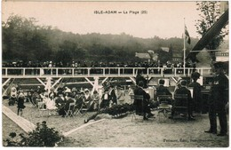 CPA Isle Adam, La Plage (pk44890) - L'Isle Adam