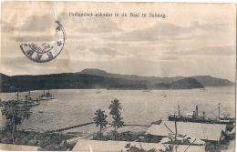 ***Hollandsch Eskader In De Baai Sabang  - Dos Trac Humidité - Indonésie