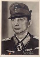 Postkarte Generaloberst Eduard Dietl Ritterkreuzträger Des Heeres - 1939-45