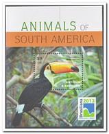 Antigua & Barbuda 2013, Postfris MNH, Birds, Brasiliana 2013 - Antigua En Barbuda (1981-...)