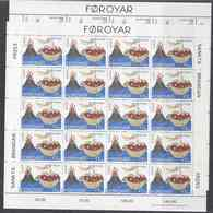 Europa Cept 1994 Faroe Islands 2v 2 Sheetlets ** Mnh (F7158) ROCK BOTTOM - Europa-CEPT