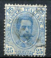 1891 - REGNO - Catg. Unif. 62 - USED - (ITA3152A.22) - 1878-00 Humberto I