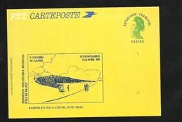 Entier Postal 2484A-CP Carte Postale Repiquée Exposition Philatélique Îe De France Gaphil Juvisy/ Orge Avril 1991 Neuve - Ganzsachen