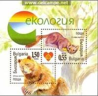Ecology – Bulgaria / Bulgarie 2006 –  Block MNH** - Bears