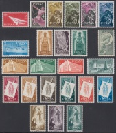 España Spain Año Completo Year Complete 1956 - 1957 MNH - Sin Clasificación