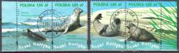 Poland  2009 -  Wild Life Of The Baltic Sea - Mi.4433-36 - Used - 1944-.... Republik
