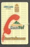 PAKISTAN USED CHIP PHONECARD SUNTEL 1000 UNITS - Pakistan