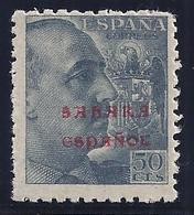 ESPAÑA -SAHARA 1941- EDIFIL#57**  Con Pie De Imprenta - Sahara Español