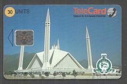 PAKISTAN USED CHIP PHONECARD TELECARD 30 UNITS - Pakistan