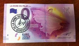 33 LA TESTE DE BUCH DUNE DU PILAT AVEC TAMPON BILLET ZERO EURO SOUVENIR 2017 BANKNOTE BANK NOTE EURO SCHEIN MONEY - EURO