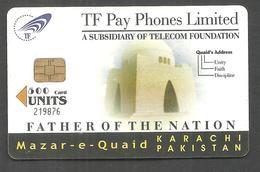 PAKISTAN USED CHIP PHONECARD TF PHONES 500 UNITS - Pakistan