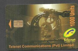 PAKISTAN USED CHIP PHONECARD TELENET 1000 UNITS - Pakistan