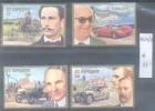 SAINT VINCENT SERIE COMPLETA COMPLETE SET CENTENAIRE DE L'AUTOMOBILE YVERT NRS. 1024-1027 MNH  TBE - St.Vincent (1979-...)