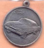 MEDALLA FORD FALCON AUTOMOVILES AUTOMOVIL AUTOMOBILE REPUBLICA ARGENTINA CIRCA AÑO 1970 - Tokens & Medals