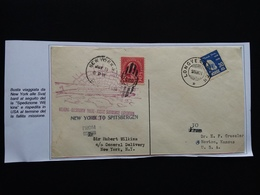 STATI UNITI 1931 - Spedizione Wilkins - Busta Viaggiata Con Annullo Retro + Spese Postali - Storia Postale