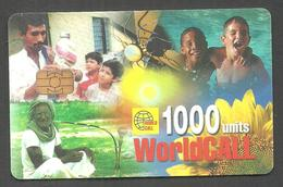 PAKISTAN USED CHIP PHONECARD WORLD CALL 1000 UNITS - Pakistan