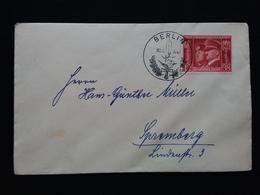 GERMANIA III REICH - Amicizia Hitler-Mussolini - Su Busta Con Annullo Speciale + Spese Postali - Germania