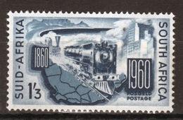 South Africa Stamp To Celebrate Railways From 1960. - Südafrika (...-1961)