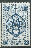 Inde Française - Yvert N° 218 **  -  Aab 17602 - India (1892-1954)