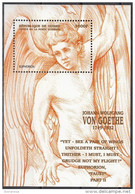 Guinea 1999 Sc. 1609 J.W. Von Goethe Faust EUPHORION Sheet Perf. Nuovo MNH Guinee - Guinea (1958-...)