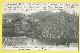 * Bouillon (Luxembourg - La Wallonie) * (Impr. A. Gelly - A. Florin Coiffeur) Gorge St Pierre, Chateau Des Moines, Villa - Bouillon