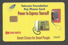 PAKISTAN USED CHIP PHONECARD 500 UNITS PAY PHONECARD - Pakistan