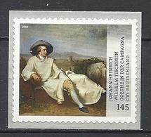 Deutschland / Germany / Allemagne 2018 3397 ** J.H.W: Tischbein/Goethe Selbstklebend (07.06.18) - [7] Repubblica Federale