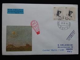 SAN MARINO - Venezia - Ascensione Rinviata + Spese Postali - Posta Aerea